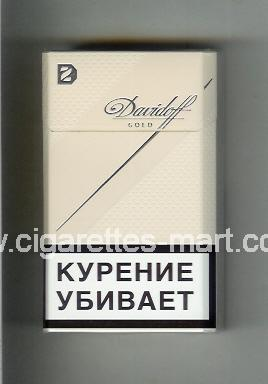 Davidoff (design 6) (Gold) ( hard box cigarettes )