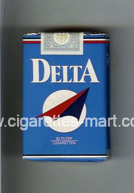Delta (german version) (design 2) ( soft box cigarettes )