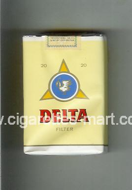Delta (german version) (design 3) ( soft box cigarettes )