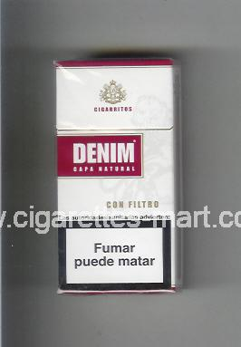 Denim (design 1A) (Sapa Natural / Con Filtro / Cigaritos) ( hard box cigarettes )