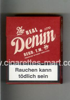 Denim (design 3) (The Real) ( hard box cigarettes )