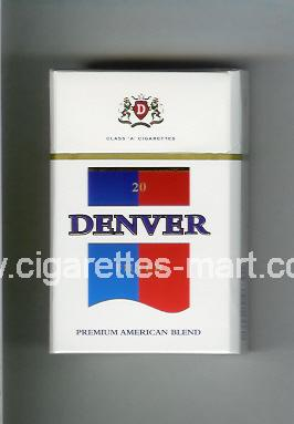 Denver (german version) (Filter / Premium American Blend) ( hard box cigarettes )