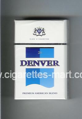 Denver (german version) (Lights / Premium American Blend) ( hard box cigarettes )