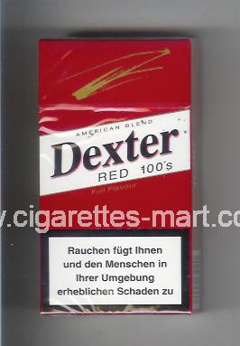 Dexter (Red / American Blend / Fine Flavour) ( hard box cigarettes )