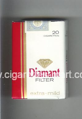 Diamant (german version) (Filter / Extra-Mild) ( soft box cigarettes )