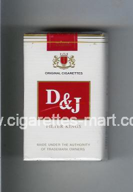 D&J (design 1) ( soft box cigarettes )