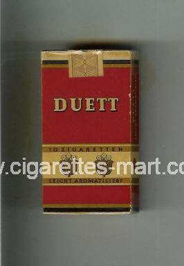 Duett (design 1) ( hard box cigarettes )