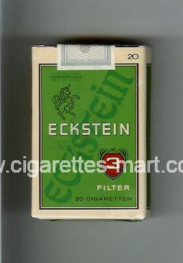Eckstein No 3 (Filter) ( soft box cigarettes )