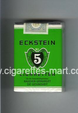 Eckstein No 5 ( soft box cigarettes )