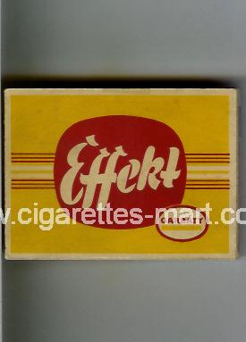 Effekt (Garbaty) ( box cigarettes )