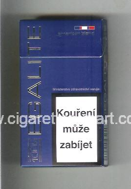 Egalite (design 1) (American Blend) (blue) ( hard box cigarettes )