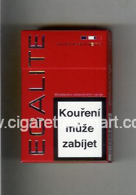 Egalite (design 1) (American Blend) (red) ( hard box cigarettes )