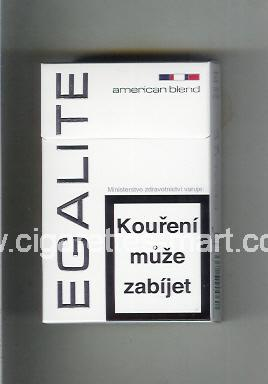 Egalite (design 1) (American Blend) (white) ( hard box cigarettes )
