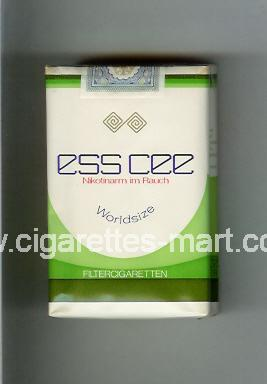 Ess Cee ( soft box cigarettes )
