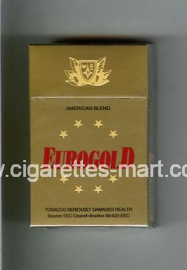 Eurogold (American Blend) ( hard box cigarettes )