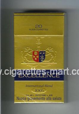 Excellence (german version) (International Blend) ( hard box cigarettes )