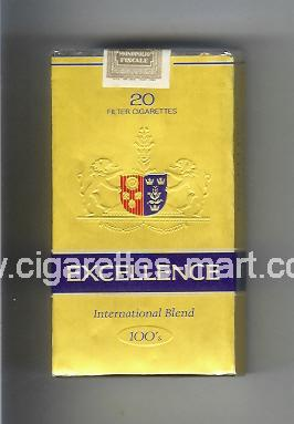 Excellence (german version) (International Blend) ( soft box cigarettes )