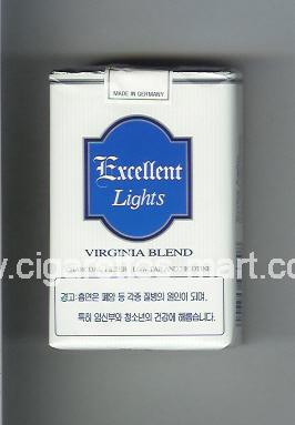 Excellent (Lights / Virginia Blend) ( soft box cigarettes )