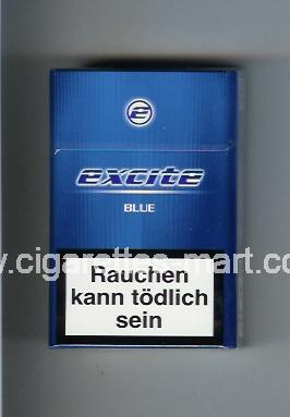 Excite (design 1) (Blue) ( hard box cigarettes )