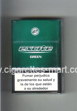 Excite (design 1) (Green) ( hard box cigarettes )
