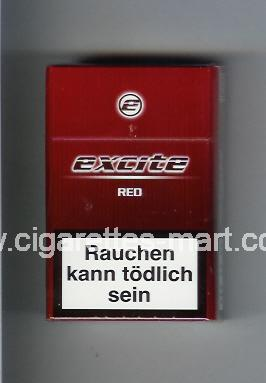 Excite (design 1) (Red) ( hard box cigarettes )