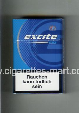 Excite (design 2) (Blue) ( hard box cigarettes )