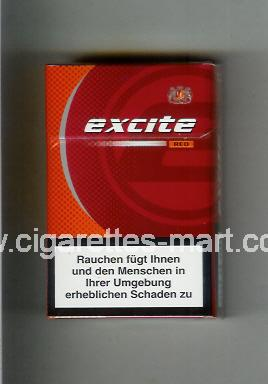 Excite (design 2) (Red) ( hard box cigarettes )