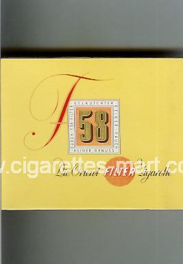 F 58 ( box cigarettes )