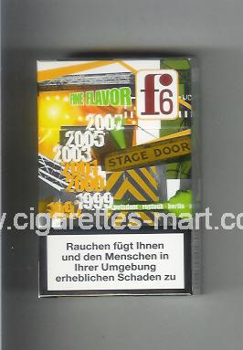 F 6 (german version) (collection design 2B) (Fine Flavor) ( hard box cigarettes )
