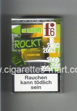 F 6 (german version) (collection design 2C) (Fine Flavor) ( hard box cigarettes )