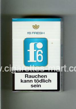 F 6 (german version) (design 3) (Fresh) ( hard box cigarettes )