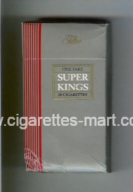 Fine Fare (Super Kings / Filter) ( hard box cigarettes )