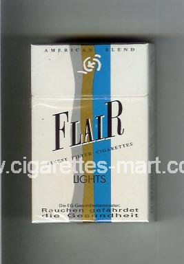 Flair (german version) (Lights / American Blend) ( hard box cigarettes )