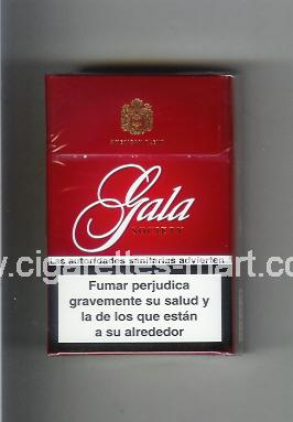Gala (german version) (design 1) (Society / American Blend) ( hard box cigarettes )