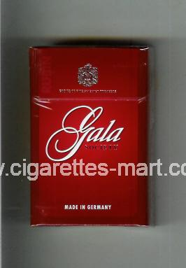 Gala (german version) (design 1) (Society / Rubin) ( hard box cigarettes )