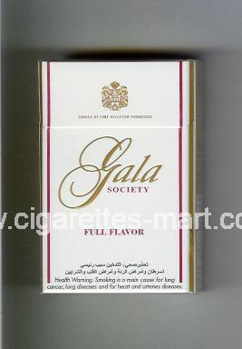 Gala (german version) (design 1A) (Society / Full Flavor) ( hard box cigarettes )