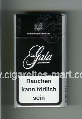 Gala (german version) (design 1B) (Society) ( hard box cigarettes )