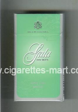 Gala (german version) (design 1B) (Society / Super Slims Menthol) ( hard box cigarettes )