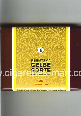 Gelbe Sorte (Reemtsma / International) ( box cigarettes )
