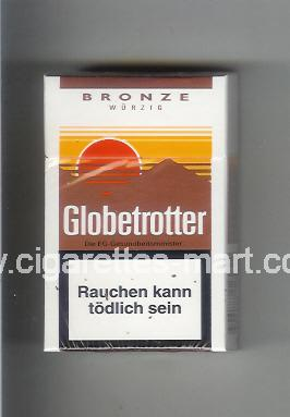 Globetrotter (design 4) (Bronze / Wurzig) ( hard box cigarettes )