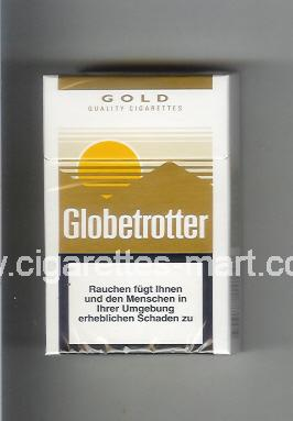 Globetrotter (design 4) (Gold / Quality Cigarettes) ( hard box cigarettes )
