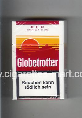 Globetrotter (design 4) (Red / American Blend) ( hard box cigarettes )