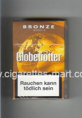 Globetrotter (design 5) (Bronze / Wurzig) ( hard box cigarettes )