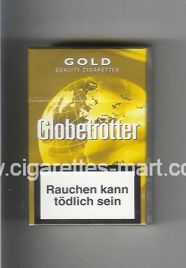 Globetrotter (design 5) (Gold / Quality Cigarettes) ( hard box cigarettes )