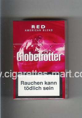 Globetrotter (design 5) (Red / American Blend) ( hard box cigarettes )