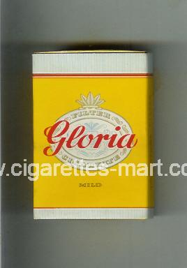 Gloria (german version) (design 1) (Mild) ( hard box cigarettes )
