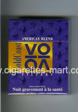 Gold Coast (german version) (VO / Filters) ( hard box cigarettes )