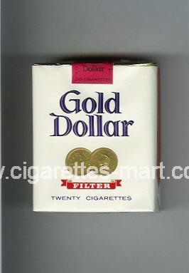 Gold Dollar (german version) (design 1) ( soft box cigarettes )
