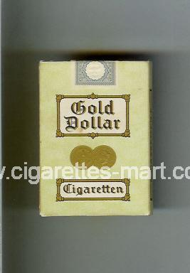 Gold Dollar (german version) (design 2) ( hard box cigarettes )