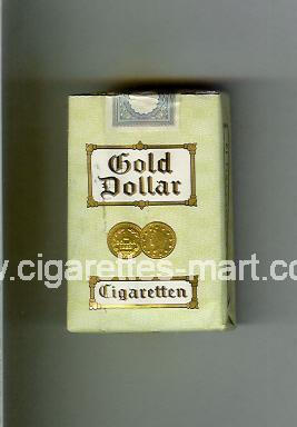 Gold Dollar (german version) (design 2) ( soft box cigarettes )